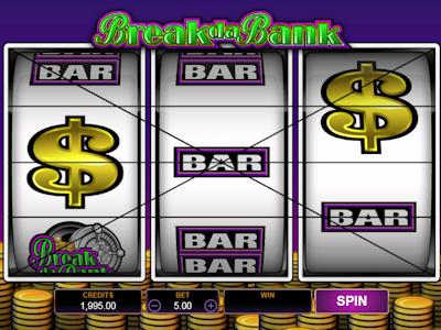 Retro automat Break da Bank