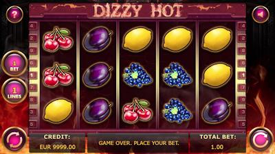 Automat Dizzy Hot pre VIP hráčov
