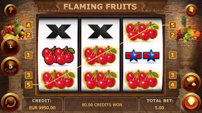 Slot Flaming Fruits