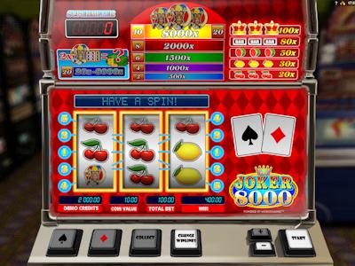 Retro automat Joker 8000