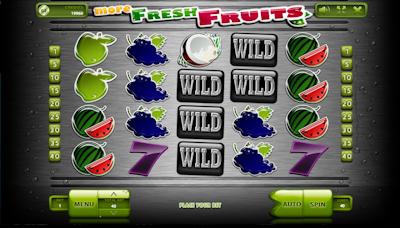 Automat More Fresh Fruits