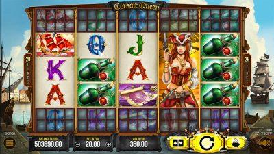 Hrací automat Corsair Queen