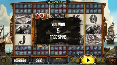 Výherný automat Corsair Queen