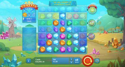 Automat Crystal Land základná hra