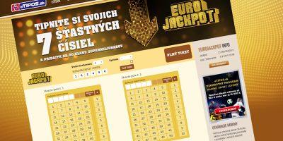 Eurojackpot na etipos.sk
