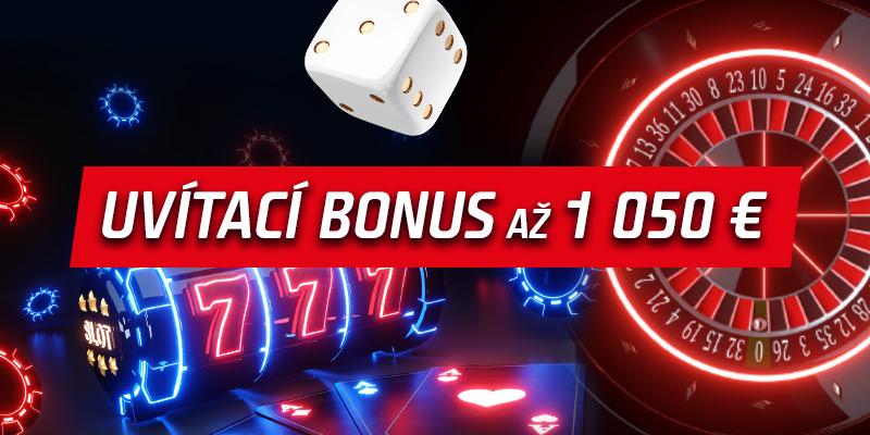 Uvítací bonus až 1 000 €