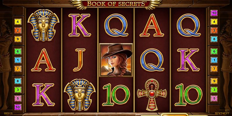 Book of secret online kasino