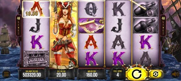 Corsair Queen slot ecasino