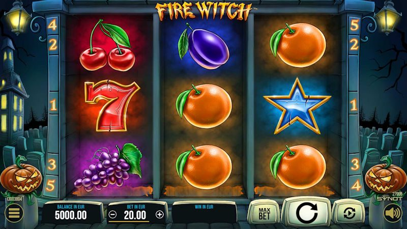 Fire witch automat ecasino