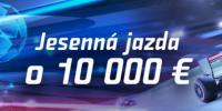 Jesenna jazda o 10 000 bonus