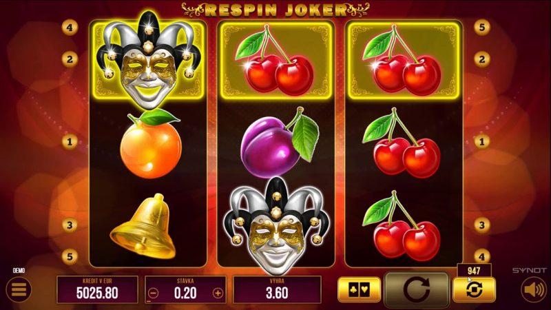 Respin Joker automat ecasino