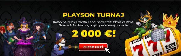 eTipos Playson turnaj
