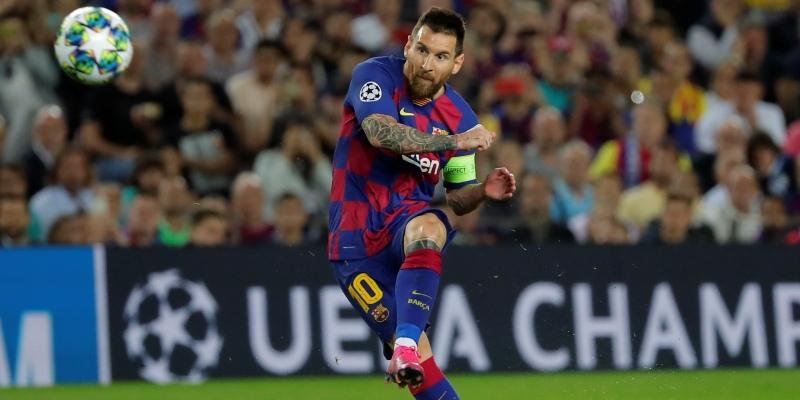 Liga Majstrov - Messi
