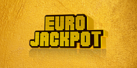 Eurojackpot logo na zlatom podklade