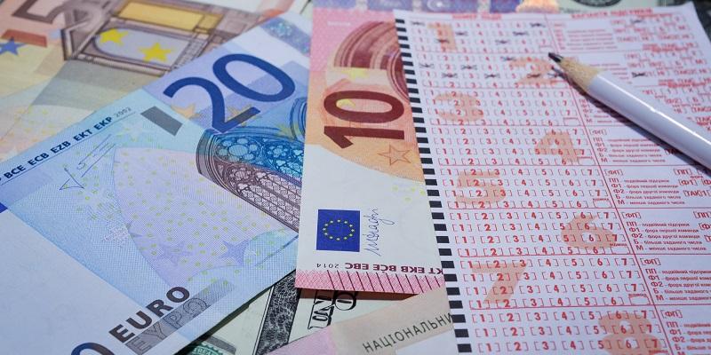 tiket lotérie výhra