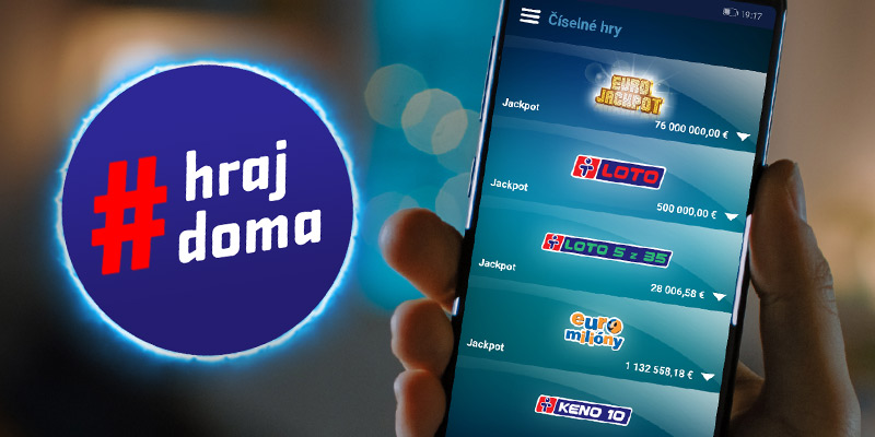Lotérie cez aplikáciu