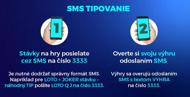 ako tipovať loterie cez sms