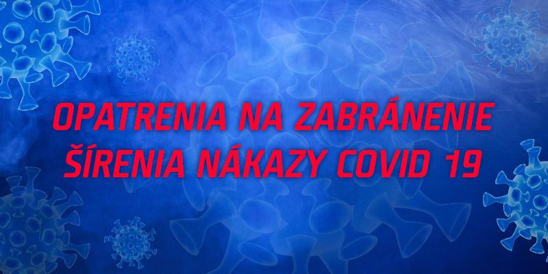 Koronavírus, všetky opatrenia na jednom mieste