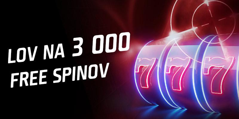 Lov na 3000 spinov