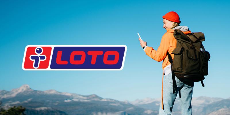 LOTO turistka na horách